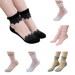 3c526e4a6 Sexy Skin SockS online shopping - Crystal Transparent Silk Socks Female  Summer Sock Sexy Thin Elastic