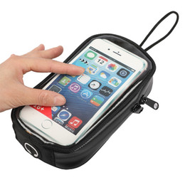 $enCountryForm.capitalKeyWord NZ - Waterproof 7 inch Motorcycle Fuel Tank Bag Navigation Bag Mobile Cell Phone Case Holder Motor Magnetic Oil Tank Package
