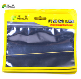 $enCountryForm.capitalKeyWord Australia - lure fishing HENGJIA 100pc fishing lures Ziplock 13cm 16cm Self Seal Zipper Plastic Retail Packing Poly , Ziplock Zip Lock Bag Package