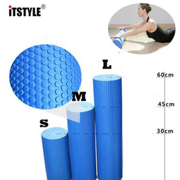 $enCountryForm.capitalKeyWord Australia - ITSTYLE Yoga Column Roller EVA Floating Point Grid Trigger Physio Massage Pilates Tight Muscles Yoga Block Foam Roller