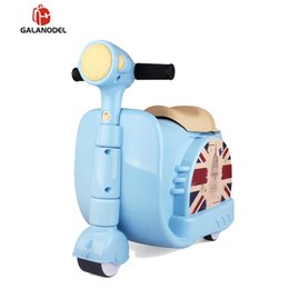 Pull rod online shopping - Children Travel Locker Handbag Boy Girl Baby Creative Toy Box Luggage Suitcase Pull Rod Box Can Sit To Ride Check Child Gift