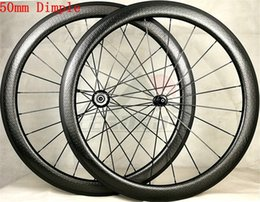 Wheels front carbon clincher online shopping - LEADXUS Full T700 Carbon Fiber C mm Dimple Wheelset Clincher Tubular Carbon Wheels Road Bike Wheels