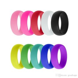 silicone cake ring NZ - New Pretty Finger Silicone Hoop Rubber Hand Band Ring Mech Protection Vape Mod Vape Vaporizer RDA Tanks Decorate High Quality Hot Cake