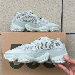 f418a4495 Adidas yeezy 500 Desert Rat 500 Salt Designer Shoes para hombre Super Moon  Yellow Utility Negro Kanye West Zapatos para correr para mujer Zapatillas de  ...