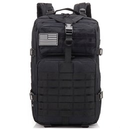 Molle Pack Black Australia - 34L Tactical Assault Pack Backpack Army Molle Waterproof Bug Out Bag Small Rucksack for Outdoor Hiking Camping Hunting(black)