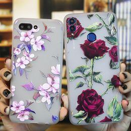 Case Huawei Lite Australia - Honor 8x Case For Honor 9 Lite 8c 8 7x 7c Nova 3i Silicon Fundas Huawei P Smart Plus Mate 20 10 Lite Pro Phone Case 3d Flowers