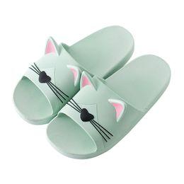 $enCountryForm.capitalKeyWord Australia - Sleeper#401 2019 New fashion Men&Women Home Indoors Slippers Cartoon Cat Floor Family Shoes Beach Sandals cute hot Free Shipping