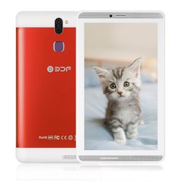 Cheap Quad Core Pc NZ - 7 Inch Screen Android 6.0 Phone Call Sim Card Tablet Pc Quad Core 8GB Flash Built inside Dual Sim Card Cheap From Moscow