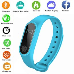 $enCountryForm.capitalKeyWord Australia - 2019 Sports Smart Watch M2 Heart Rate Monitoring Pedometer Alarm Clock Fitness Tracker Waterproof Smart Bracelet For IOS Android