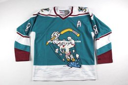 597a41b7a Cheap custom New Vintage Anaheim Mighty Ducks Teemu Selanne #8 Hockey Jersey  Wild Wing Mens Personalized stitching jerseys