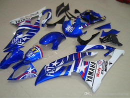 Yamaha Blue Australia - 4 Free Gifts New Injection ABS Fairing kit 100% Fit for YAMAHA YZFR6 08 09 10 11 12 13 14 15 YZF R6 2008-2015 YZF600 set blue white FIAT 27