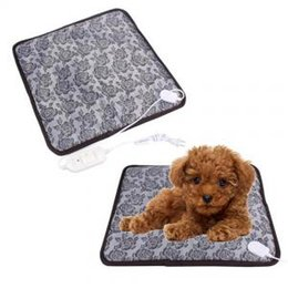 China Pet Heating Pad Dog Cat Waterproof Electric Heating Mat Heater Warmer Bed Blanket Pets Acessorios 45*45cm PPA151 cheap mat heater suppliers