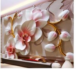 Painted floors online shopping - European retro vintage luxury pattern hand drawn doodle abstract bedroom floor d floor painting wallpaper