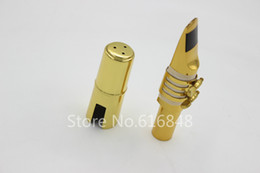 $enCountryForm.capitalKeyWord Australia - Dukoff Metal Mouthpiece for Baritone Saxophone Brass Gold Lacquer Musical Instrument Accessories Size 5 6 7 8 9 Free Shipping