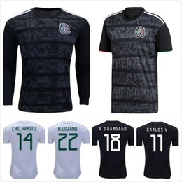 Wholesale free shipping men soccer jerseys resale online – DHL Mexico soccer jersey Gold Cup Camisetas MEN WOMEN KIDS CHICHARITO LOZANO DOS SANTOS girl football shirt