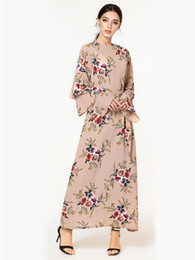 2019 Plus Size Dress Women Vestidos Casual Muslim Long Sleeve Maxi Dresses  Clothing Evening Party 4XL 5XL 6XL 7XL 06c19cd6b4e1