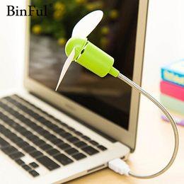 $enCountryForm.capitalKeyWord Australia - Mini USB Fan gadgets Flexible Cool For laptop PC Notebook high quality For Laptop Desktop PC Computer