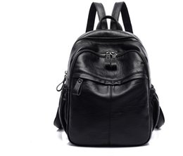 $enCountryForm.capitalKeyWord Australia - PU,Black backpack, laptop backpack, large leather backpack purse with laptop compartment, travel backpack, school bag