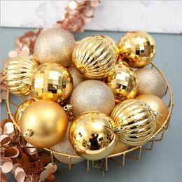$enCountryForm.capitalKeyWord Australia - 6cm 34pc Christmas Tree Decoration Ball Christmas Party Hanging Ball Decoration Home Gift