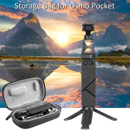 camera storage box Australia - Carry Case Storage Box Bag Waterproof With Two-way Zipper Fleece Fabric For DJI Osmo Pocket Camera Accessories