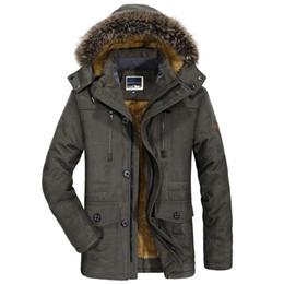 $enCountryForm.capitalKeyWord Australia - Jackets Men's Fur Collar Windproof Parkas Plus Size 6xl Velvet Warm Coat Mens New Fashion Winter Jacket Men Thick Casual Outwear