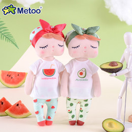 $enCountryForm.capitalKeyWord Australia - New Soft Metoo Fruit Angela Doll Stuffed Toys Plush Watermelon Fresh Cute Kawaii Kids Gift Metoo Dolls for Girls SH190909