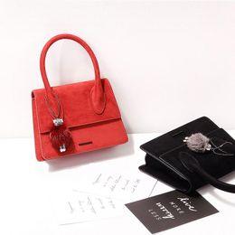 $enCountryForm.capitalKeyWord Australia - 2019 New products listed fashion handbags trend women's bag suede bag