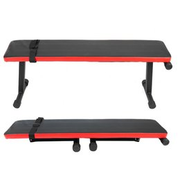Wholesale Folding Supine Board Sit-ups Home Fitness Weight Sit Up Benches Incline Decline Gym Exercise Workout Fitness Equipments