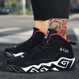 top fashion basket 2019 - CIMIM Brand High Top Sneakers Men Winter Casual Shoes Men Hot Sale Large Size 39-48 Fashion Black Sneakers Basket Homme