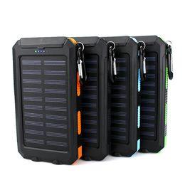$enCountryForm.capitalKeyWord Australia - 2019 hot USB Port Solar Power Bank Charger External Backup Battery With Retail Box For iPhone iPad Samsung Mobile Phone