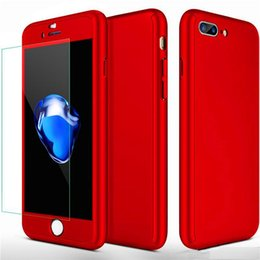 $enCountryForm.capitalKeyWord Australia - 360° Full Protection Case For iPhone X 8 7 6 6S Plus Samsung S8 S7 Edge Hybrid Full Body Case with Screen Protector