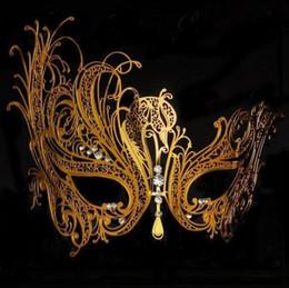 Chinese  Women Hot Sexy Black Metal Eye Clipping Mask Venetian Masquerade for Party Club Fancy Halloween Dress Costume Phoenix Eye Mask manufacturers