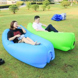 $enCountryForm.capitalKeyWord Australia - Outdoor Camping Mat Inflatable Cushion picnic Mat Fast Filling Air Lazy sofa Inflatable Lazy bag Air Sofa bed Chair Sleeping Pad
