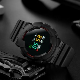 g watch smart NZ - Waterproof Smart Sport Watch with Continuous Heart Rate MX Baby-G GA-110 BA-110 Automatic Switch Screen Smartwatch