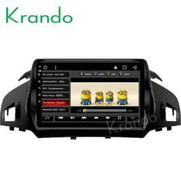 "Ford Touch Screen Stereo Australia - Krando Android 8.1 10.1"" IPS Big screen Full touch car dvd multimedia system GPS for FORD KUGA 2013 2014 2015 2016 2017 radio player"