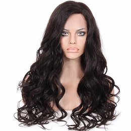 Indian Women Long Hair NZ - Human Hair Wigs Cosplay Full Front Lace Brazilian Mongolian Vietnamese Indian Hair Natural Color Big Curly Remy Virgin Hair Long For Women