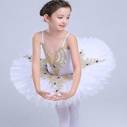 $enCountryForm.capitalKeyWord Australia - White Swan Lake Ballet Costume Summer Tutu Gymnastics Leotard Ballerina Clothes Children Stage Show Ballet Dress For Girls Kids