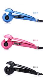 $enCountryForm.capitalKeyWord NZ - Professional Ceramic Hair Curler LCD Hair Curling Iron Roller Hair Curls Wand Fashion Styling Tools
