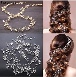 Chinese  Wedding Headdress Simulated Pearl Hair Accessories for Bride Crystal Crown Floral Elegant Hair Ornaments Hairpin 6C0193 manufacturers
