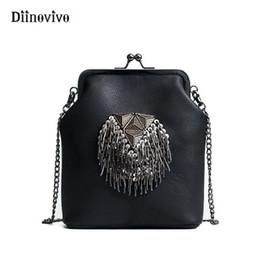 $enCountryForm.capitalKeyWord Australia - Diinovivo New Spring Shell Shoulder Bags Punk Style Rivet Women Youth Leather Handbags Girl Fashion Chain Crossbody Bag Whdv0341 J190513