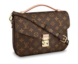 Bow pvc tote Bag online shopping - POCHETTE METIS M40780 NEW WOMEN FASHION SHOWS SHOULDER BAGS TOTES HANDBAGS TOP HANDLES CROSS BODY MESSENGER BAGS