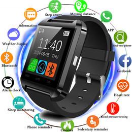 $enCountryForm.capitalKeyWord NZ - HOT Portable Smartwatch Bluetooth 3.0 Smart Watch U8 Wearable Wristband Dial Call Fitness Tracker Music Player Smart Phone NEW