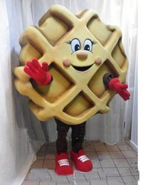 waffle costume Australia - Wholesale-2018 High quality Waffle JM Smucker mascot costume custom fancy costume kits mascotte fancy dress carnival costume