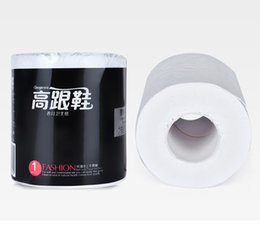 Wholesale Roll toilet paper 24 rolls with core printed napkins toilet paper white clean log pulp DHL free shipping P0105