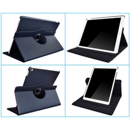 Apple iPad Air 1 Tablet Case 360 ​​Rotation Fonction solide en cuir PU Support Mode pour IPad 5 Folio Capot de protection Holster en Solde