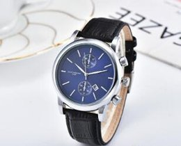 $enCountryForm.capitalKeyWord Australia - Hot Sale Gifts Male Clocks Relogios Quartz Man Leather watch Japan Movement gold Wristwatches Life Waterproof male clock Hot Items