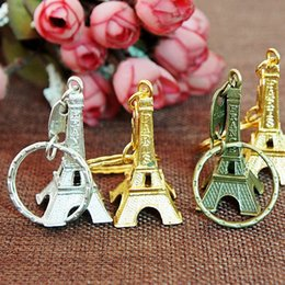 $enCountryForm.capitalKeyWord Australia - Eiffel Tower Keychain 3 color Creative Souvenirs Tower Pendant Vintage Key Ring Gifts Retro Classic Home Decoration