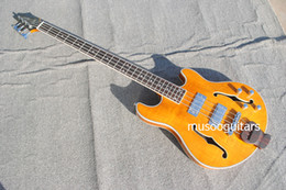 New Electric Guitar Brands Australia - NEW BRAND HOLLOW ELECTRIC BASS GUITAR