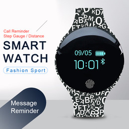 Smart Watches For Iphone Australia - Bluetooth Smart Watch for IOS Android Men Women Sport Intelligent Pedometer Fitness Bracelet Watches for iPhone Clock Men Female