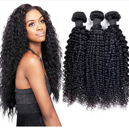 best tangle hair weave 2019 - Best Selling cheap Malaysian kinky curly hair weft 14 16 18 inch 8A no tangle 100% virgin human hair extension 3 bundles